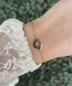 Zag Bijoux Zag Bijoux Armband Goud Kompas