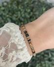 Zag Bijoux Zag Bijoux Armband Multi Bruin Beads