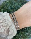 Zag Bijoux Zag Bijoux Armband Zilver Double Snake