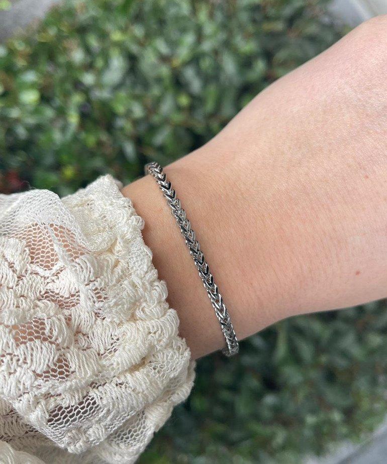 Zag Bijoux Zag Bijoux Armband Zilver Schakel