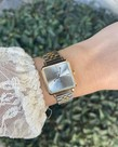 Oozoo Timepieces Oozoo Horloge C9953 Zilver Goud