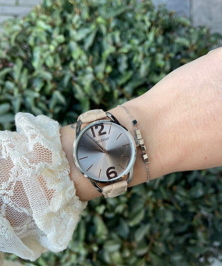 Oozoo Timepieces Horloge JR280 Sand Croco