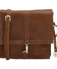So Dutch Bags So Dutch Bags Raider Schoudertas Cognac