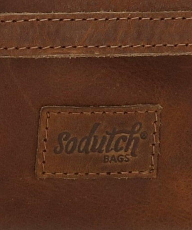 So Dutch Bags Raider Schoudertas #04 Cognac