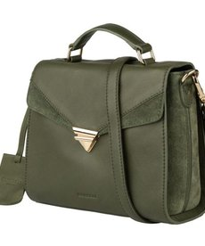 Burkely Burkely Citybag Donker Groen