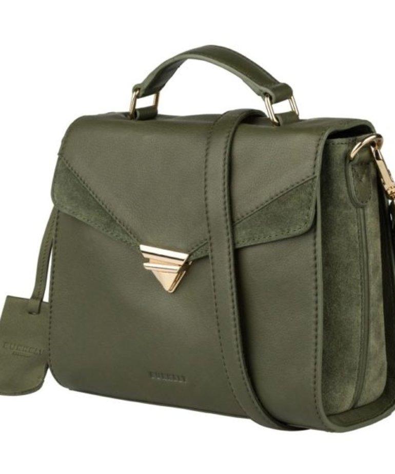 Burkely Burkely Secret Sage Citybag, Donker Groen