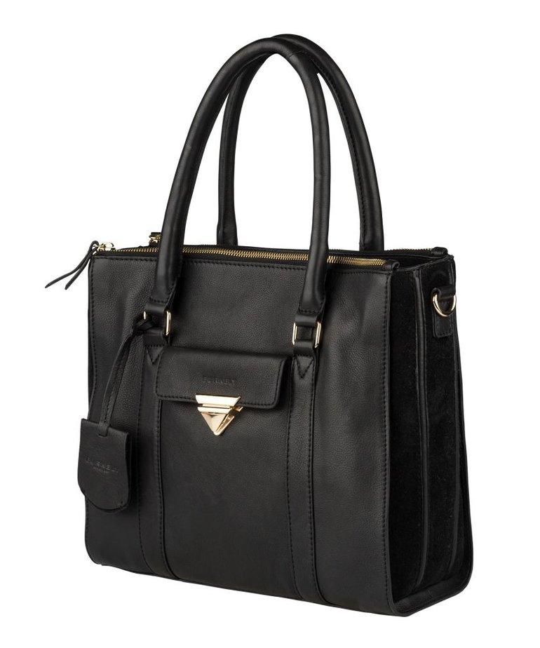 Burkely Burkely Tas Secret Sage, Handbag M Zwart