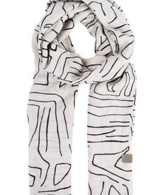 Zusss Sjaal met Safariprint Zand