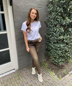 Zusss Basic T-shirt Hartje Wit