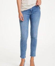 Saint Tropez Molly Slim Jeans - Light Blue Denim