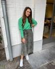 MbyM MbyM Ice Ressie Knit - Ming Green Melange