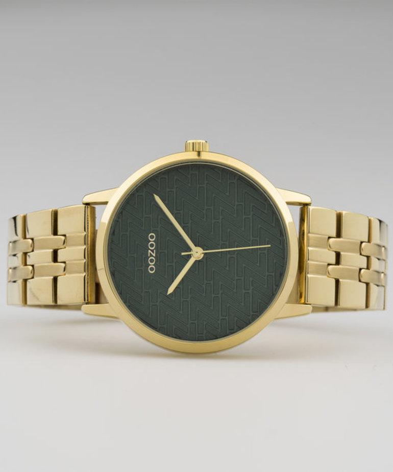 Oozoo Timepieces Oozoo C10558 Goud - Groen