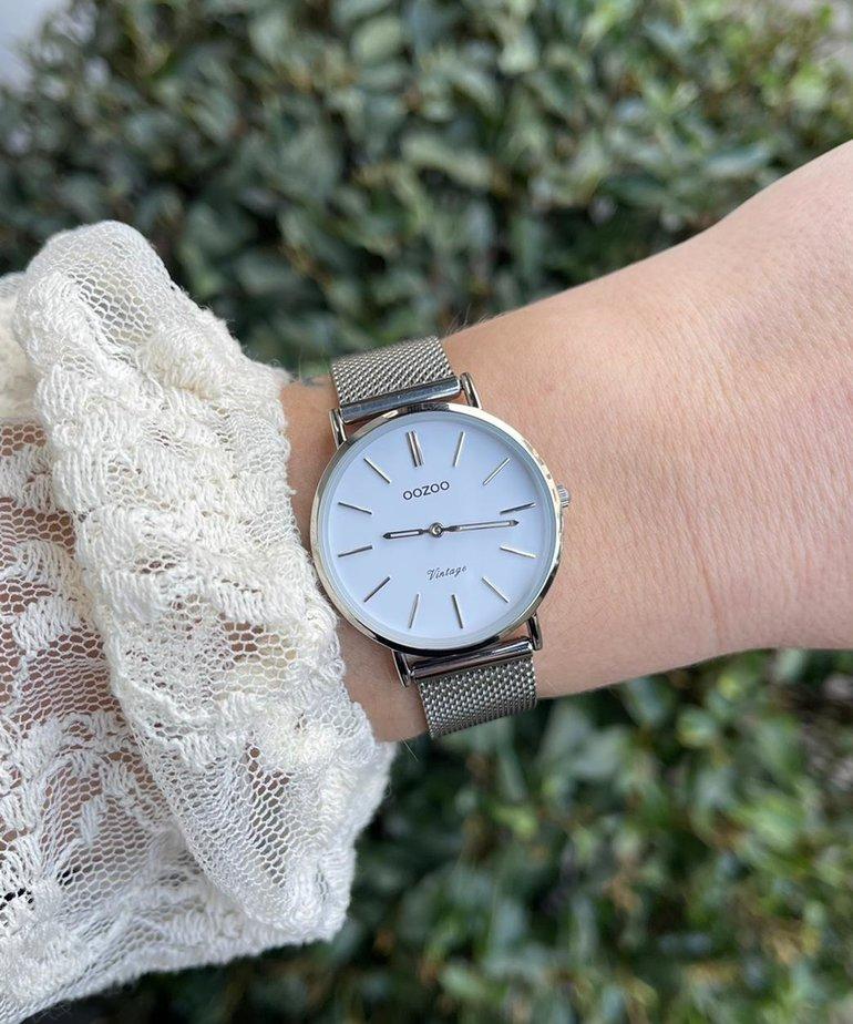 Oozoo Timepieces Oozoo C9903 - Zilver