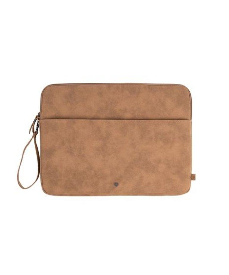 Zusss Zusss Laptopcover - Kaki 15 inch