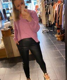 Broek PU Leather - Black