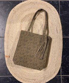 Zusss Shopper met kwast - Zand Gespikkeld