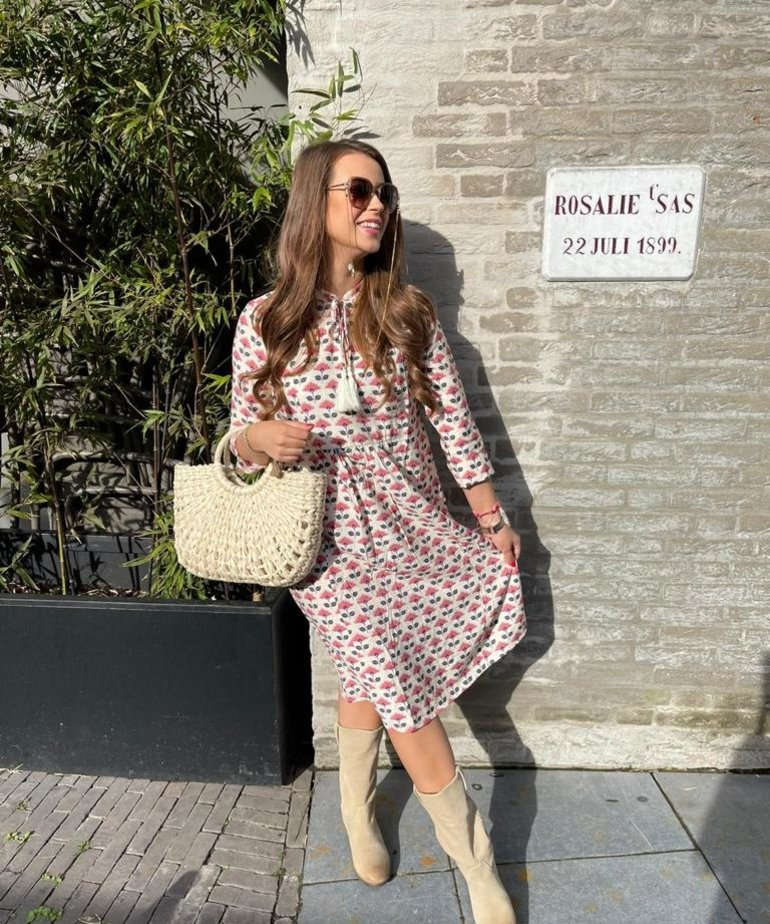 JC Sophie JC Sophie Georgianna Dress - Rasberry Lilly