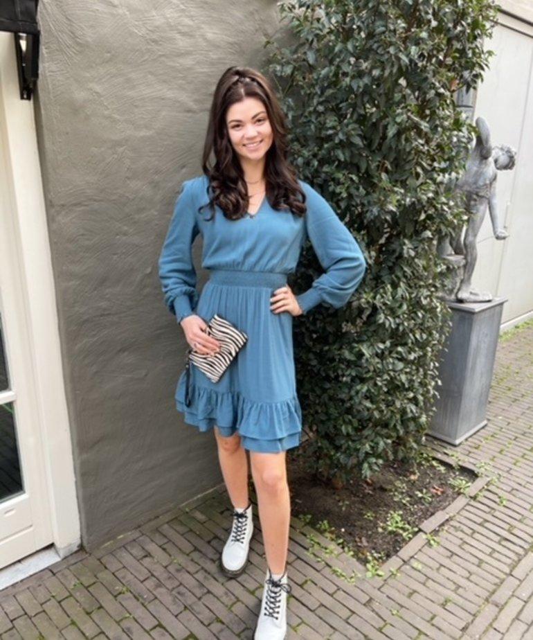 MbyM MbyM Maddalena Dress, Tide Blue