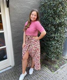 Ydence Skirt Vanessa - Pink Flower
