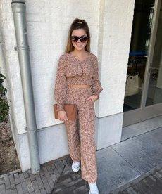 Ydence Pants Megan - Camel Print