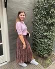 Ydence Ydence Knit Top Jade - Lilac