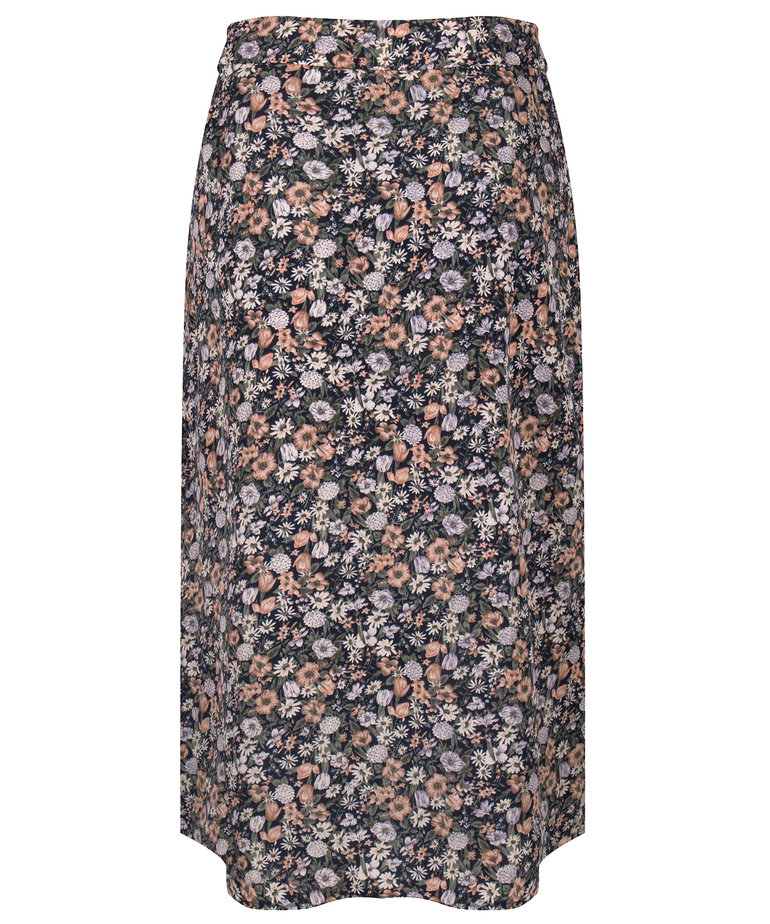 Ydence Ydence Skirt Paige - Navy Print