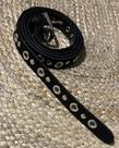 Elvy Bags Elvy Belt Women Studs - Black/Silver