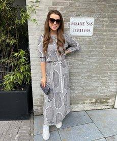 JC Sophie Geraldine Dress - Blue India
