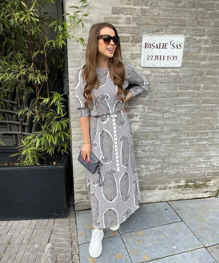 JC Sophie JC Sophie Geraldine Dress - Blue India