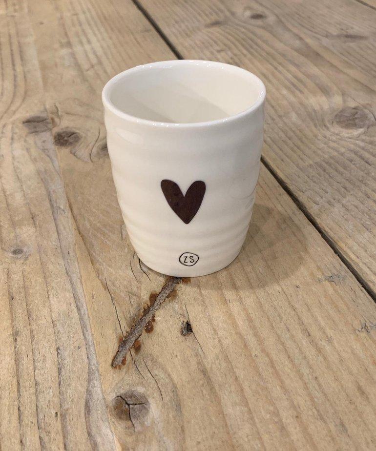 Zusss Zusss Espressokopje - Goud Hartje