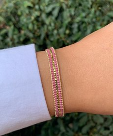 Meet Coco Alix Lila Gold Armband