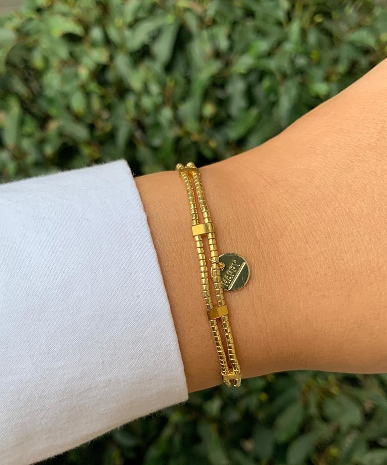 Meet Coco Meet Coco Jacky Gold Armband