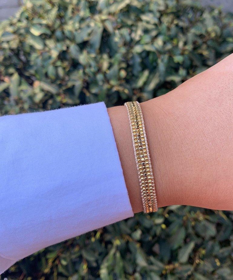 Meet Coco Meet Coco Alix Gold Armband