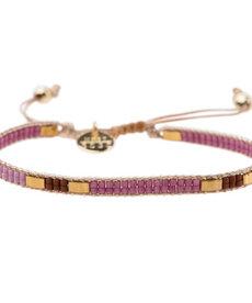 Meet Coco Bo Lila Gold Armband