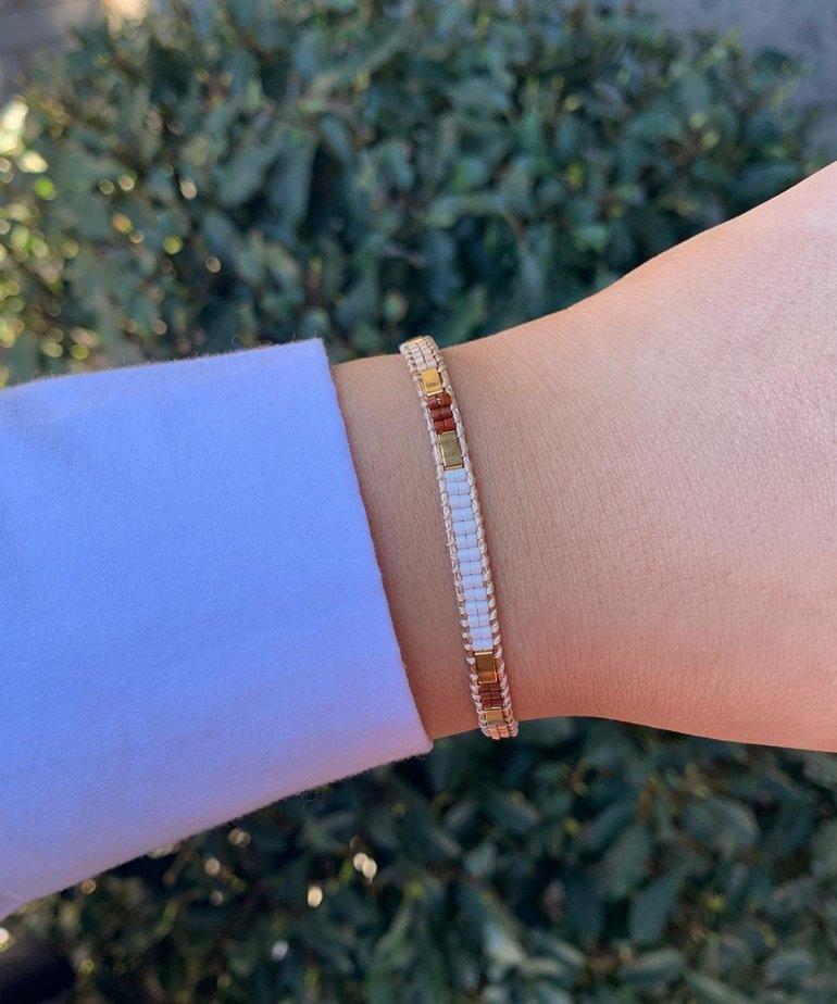 Meet Coco Meet Coco Bo White Gold Armband