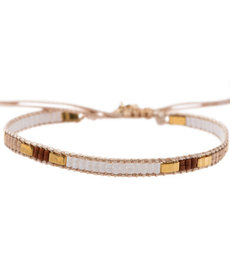 Meet Coco Bo White Gold Armband