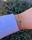 Meet Coco Meet Coco Heart Gold Armband