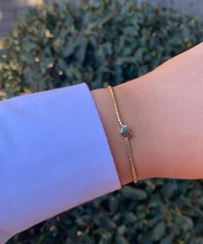 Meet Coco Heart Gold Armband