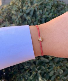 Meet Coco Joan Fuchsia Gold Armband
