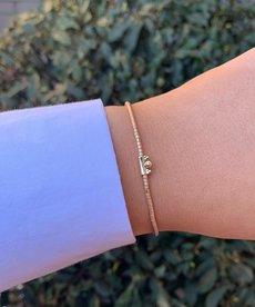 Meet Coco Amaya Coral Gold Armband