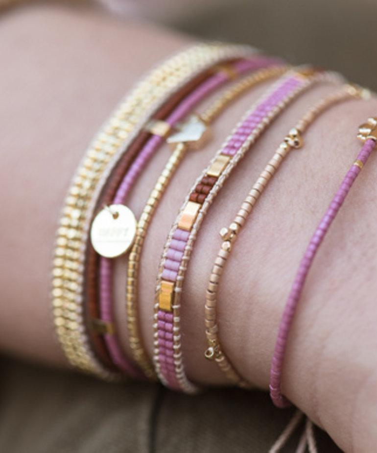 Meet Coco Meet Coco Amaya Coral Gold Armband