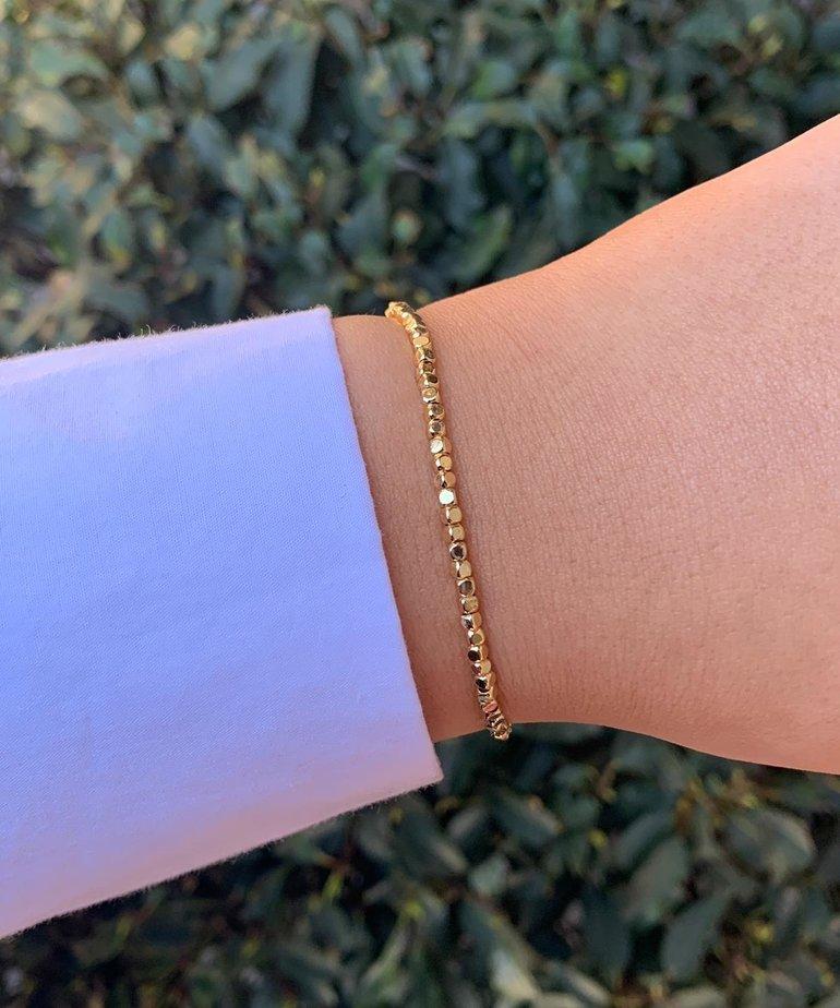 Meet Coco Meet Coco Yara Gold Armband