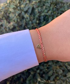Meet Coco Liev Fuchsia Gold Armband