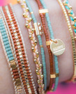 Meet Coco Meet Coco Mira Coral Gold Armband