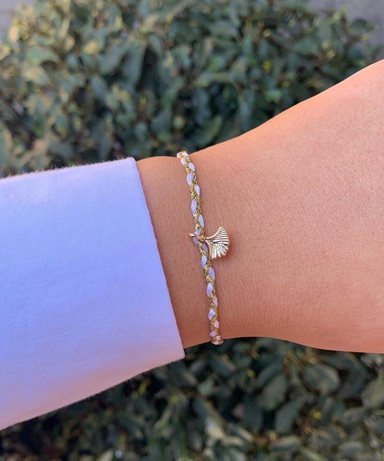 Meet Coco Meet Coco Liev White Gold Schelpje Armband