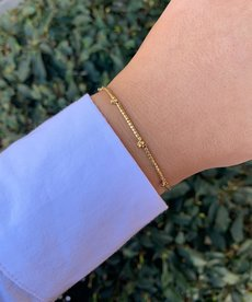 Meet Coco Lizzy Gold Armband