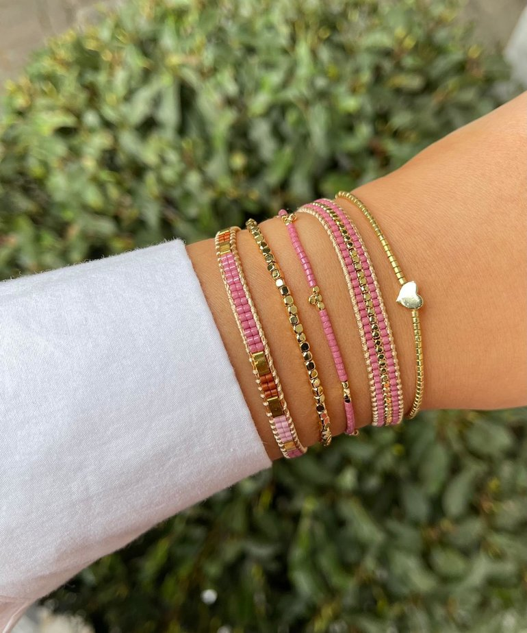 Meet Coco Meet Coco Lizzy Gold Armband