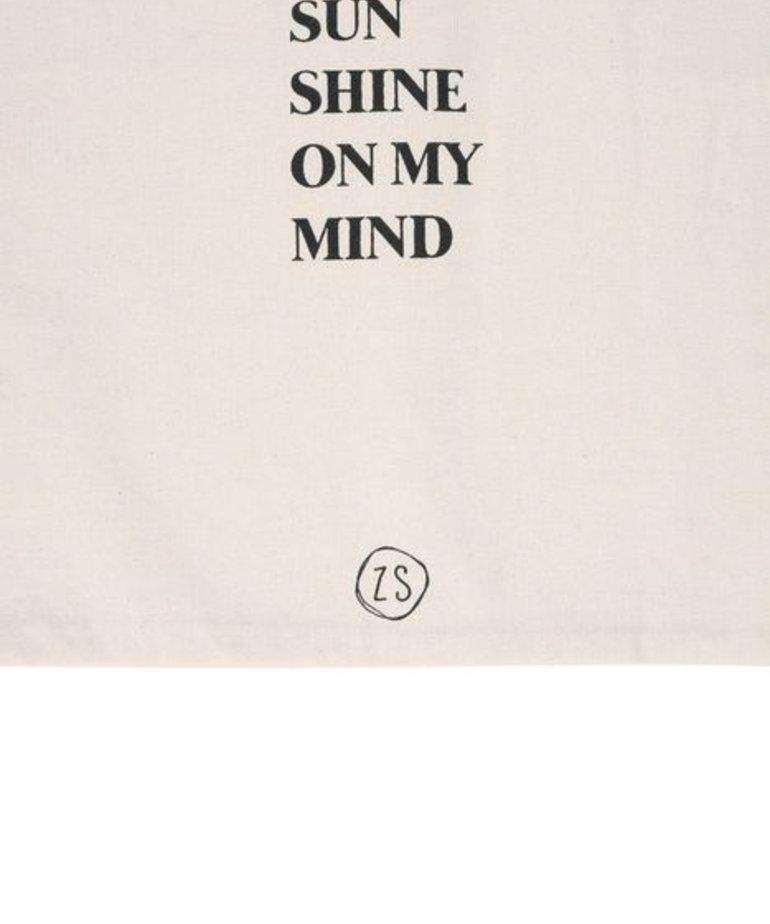 Zusss Zusss Katoenen tasje - Sunshine on my Mind