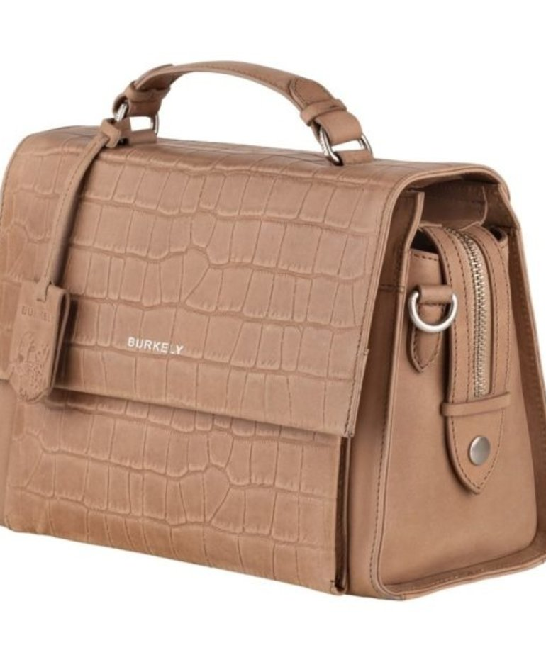 Burkely Burkely Croco Caia Citybag - Taupe