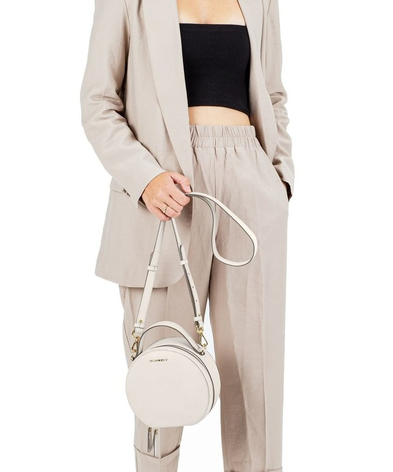 Burkely Burkely Citybag Round - Off White